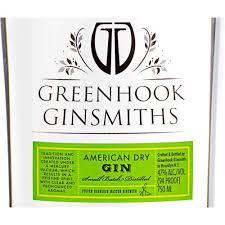 Greenhook Ginsmiths Small Batch American Dry Gin (750ml)