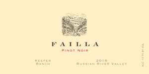 "Failla Pinot Noir ""Keefer Ranch"", Russian River Valley 2018"