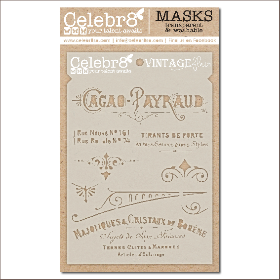 Vintage Flair Layering Stencil