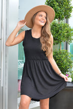 SMOCKED BABYDOLL DRESS