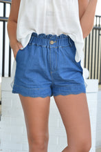 PAPERBAG SHORTS - DENIM