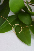 CIRCLE GOLD DAINTY NECKLACE