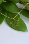 STAR GOLD DAINTY NECKLACE
