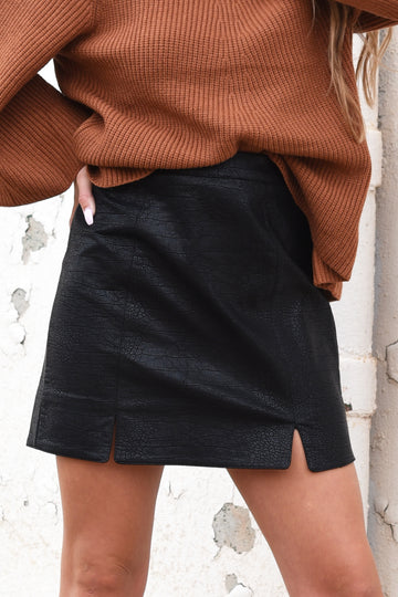 BEYOND WORDS SKIRT