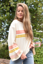 Z SUPPLY TERA STRIPE PULLOVER-BONE