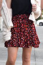 BUDDY LOVE PRESLEY SKIRT -CHERRY BOMB