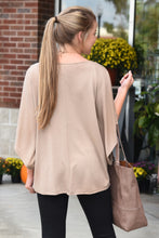 FIERCE MIND TOP- TAUPE