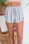 NO BLUES TODAY SHORTS - Dear Stella Boutique