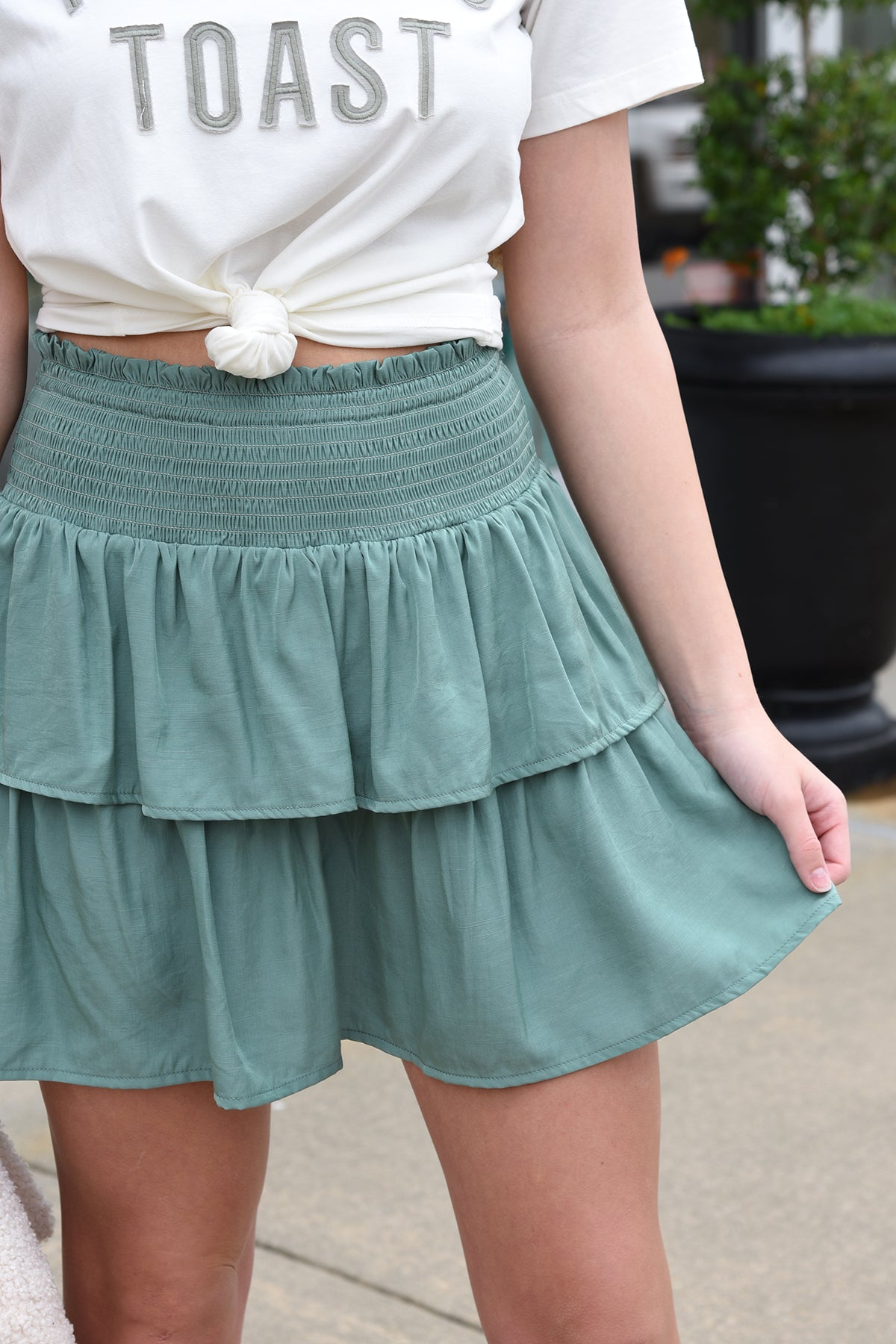 YOUR NEW FAVORITE SKIRT
