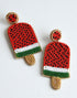 WATERMELON POPSICLE EARRINGS