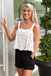 BUDDY LOVE ATHENA TOP -POLKA DOT