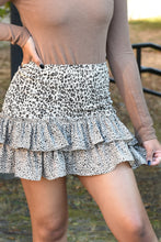SEE YOU AROUND SKIRT -LEOPARD