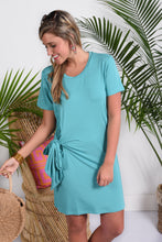 CAMERON DRESS- SEA GLASS