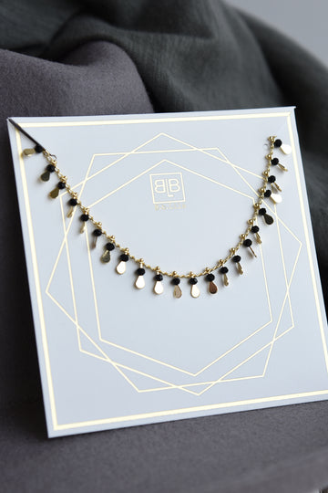 LADY NECKLACE -BLACK