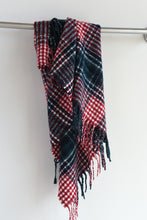 GREEN & RED PLAID SCARF