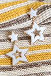 IRRIDESCENT STAR EARRINGS