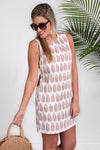 SOCIAL STATUS DRESS- BLUSH - Dear Stella Boutique