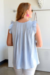 FEEL NO BLUES TOP - Dear Stella Boutique