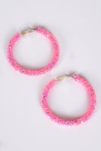 JELLY HOOPS -PINK