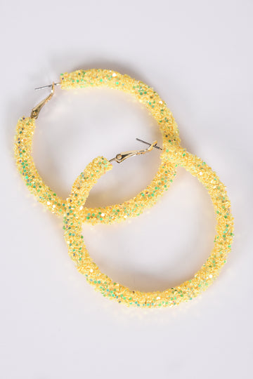 JELLY HOOPS -YELLOW