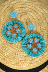 NORA EARRINGS -TURQUOISE - Dear Stella Boutique