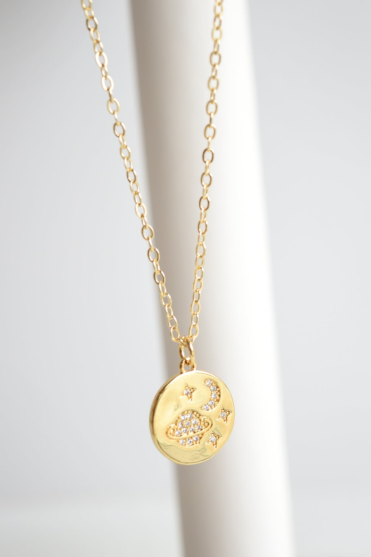 SPACE COIN NECKLACE