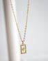 PAVE STAR BAR NECKLACE
