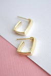 MINI SQUARE HOOP EARRINGS