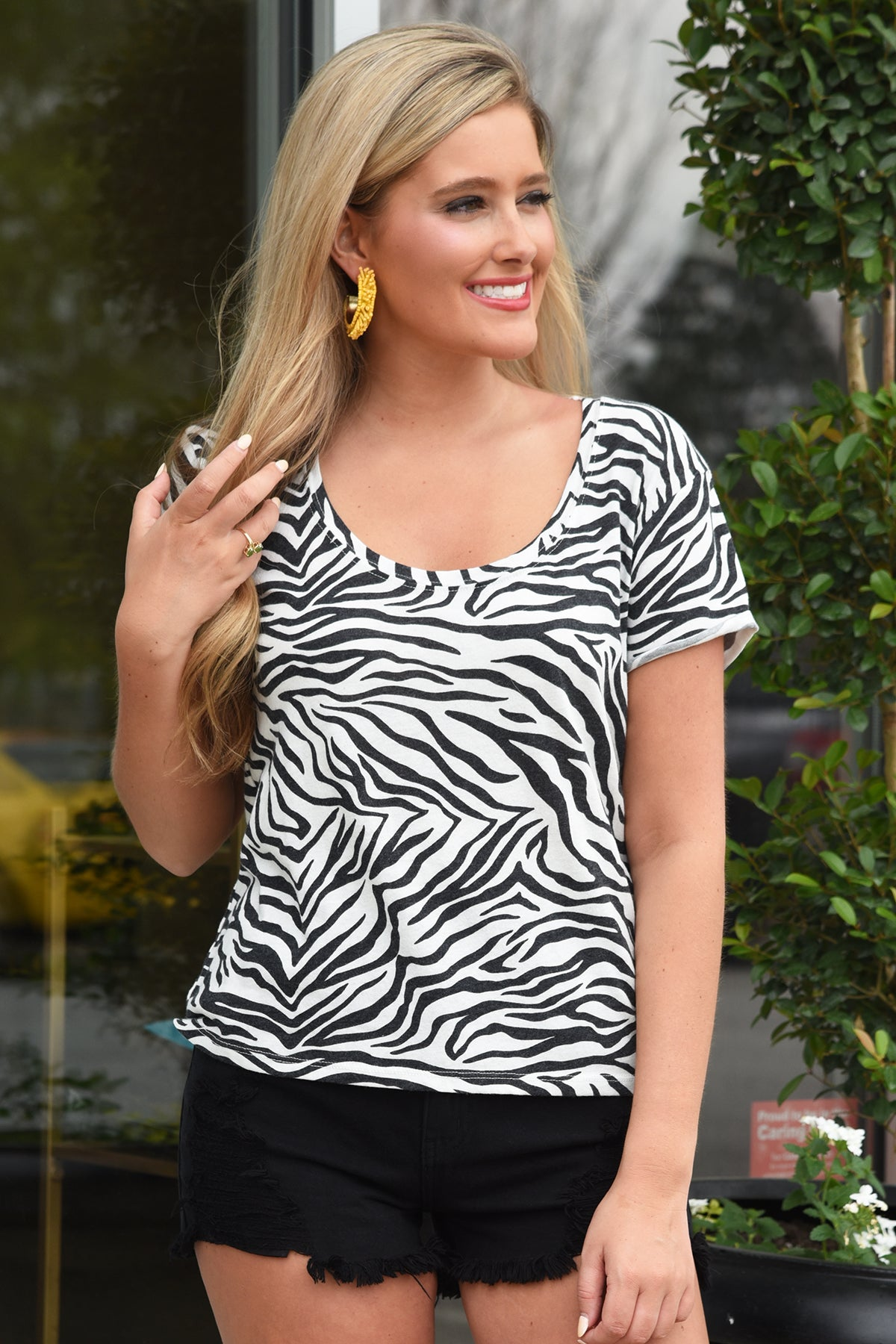 Z SUPPLY THE ZEBRA TEE