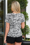 Z SUPPLY THE ZEBRA TEE - Dear Stella Boutique