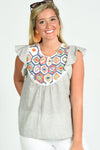 THML SUMMER FLING TOP - Dear Stella Boutique