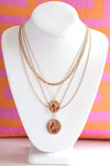 LAYERED GOLD COIN NECKLACE - Dear Stella Boutique