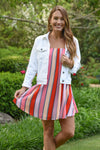 BUDDY LOVE SANDRA DRESS - FRUIT STRIPE - Dear Stella Boutique