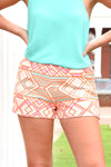 JUDITH MARCH DECO SHORTS - Dear Stella Boutique