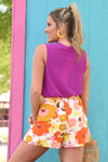 BEST OF ALL SHORTS - ORANGE - Dear Stella Boutique