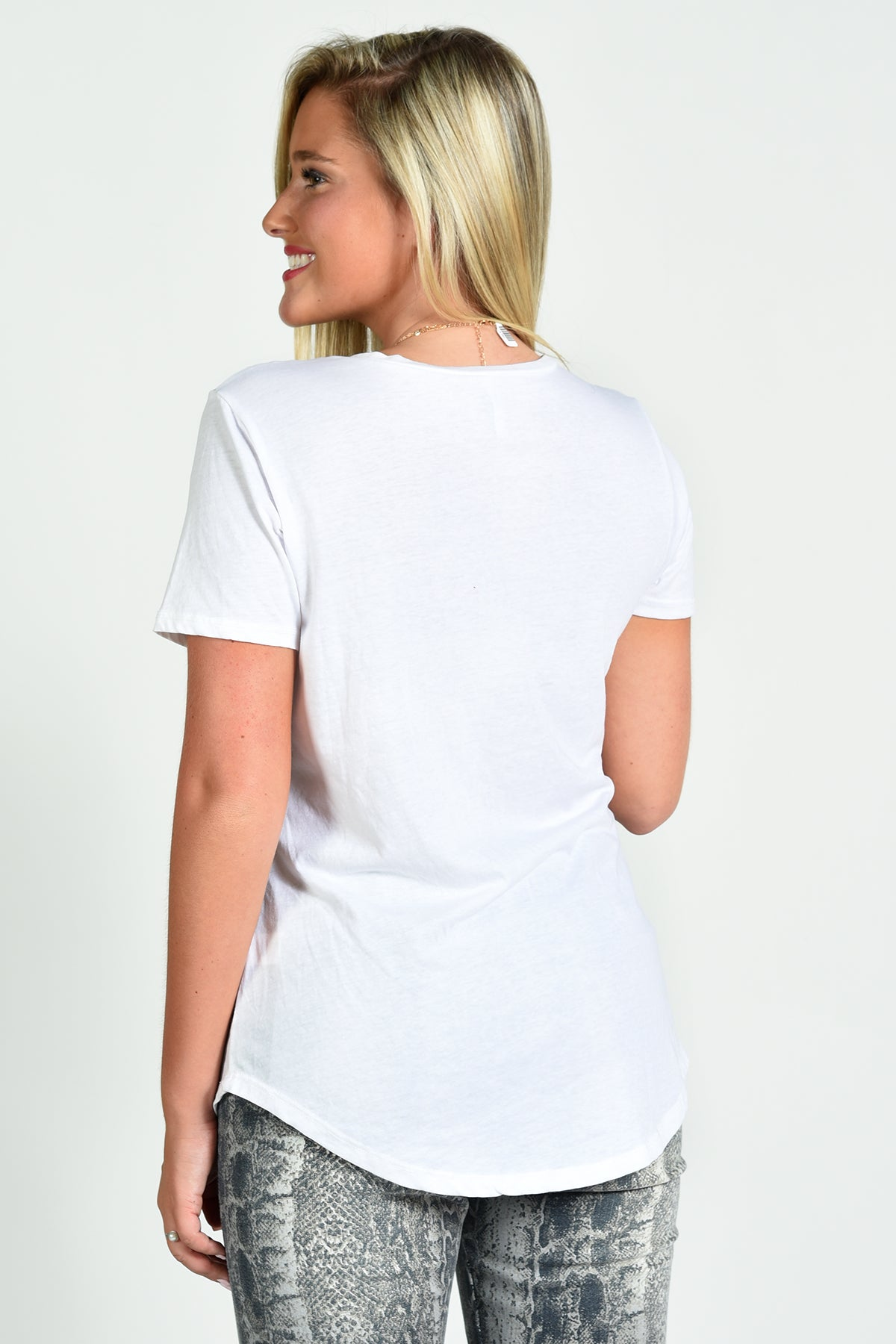 Z SUPPLY POCKET TEE -WHITE