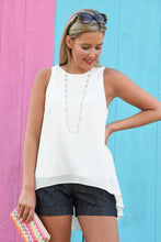 SIMPLY CLASSIC TOP - OFF WHITE