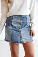 SO IN TO YOU DENIM SKIRT