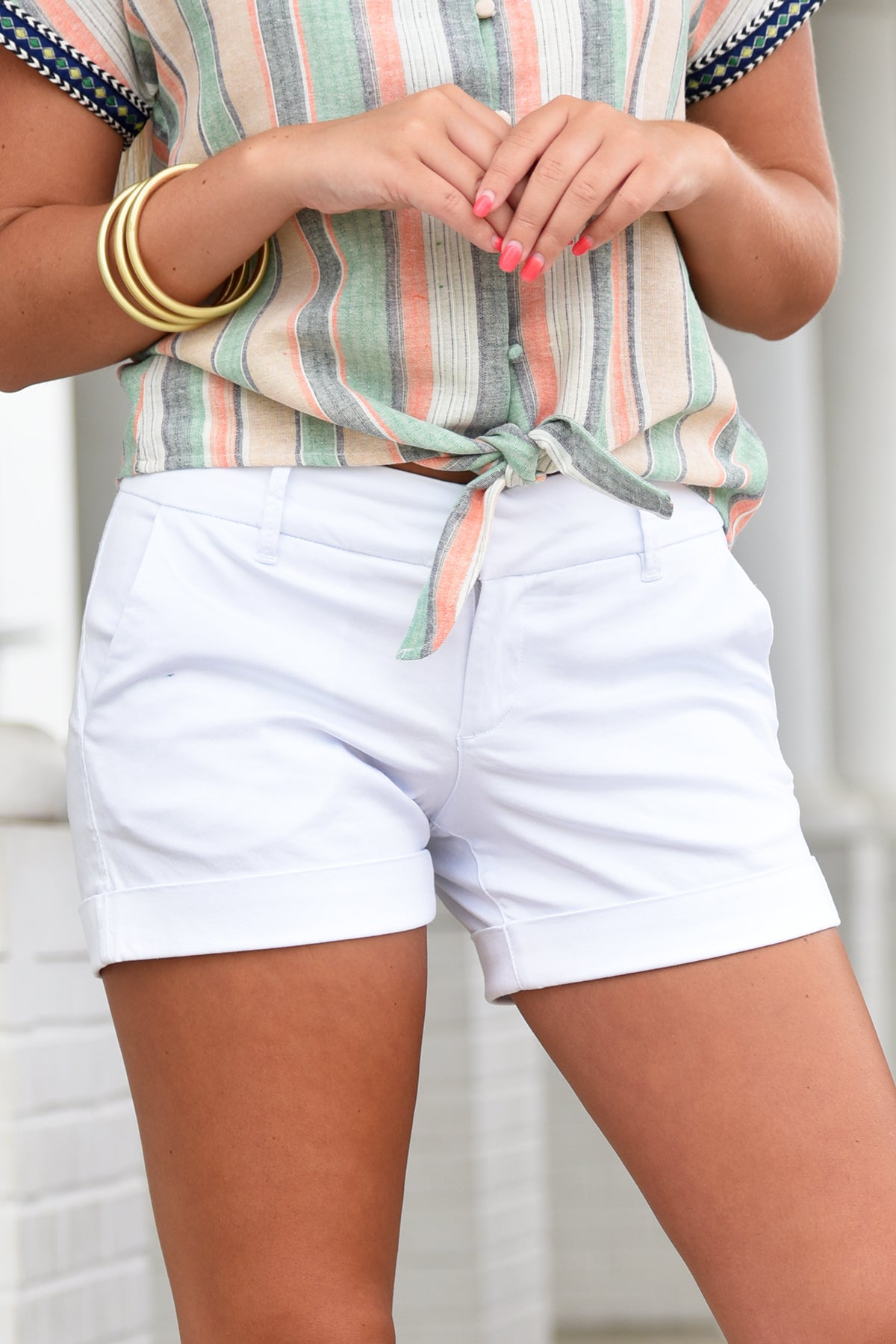 HAMPTON SHORT - WHITE