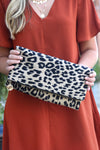LEOPARD CLUTCH - Dear Stella Boutique