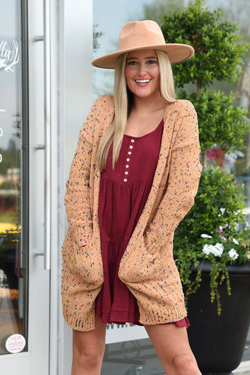 READY TO ROLL CARDIGAN