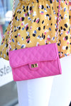 SITKA QUILTED CROSSBODY - PINK