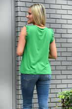 SWEET DISASTER TOP-GREEN