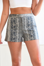 JUDITH MARCH PYTHON SHORTS