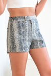 JUDITH MARCH PYTHON SHORTS - Dear Stella Boutique