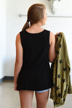 BE BASIC TOP-BLACK