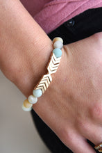 MINT CHEVRON BRACELET