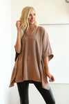 WE COULD BE BEAUTIFUL TOP -MOCHA - Dear Stella Boutique