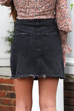 BUDDY LOVE SHARON DENIM SKIRT -GREY
