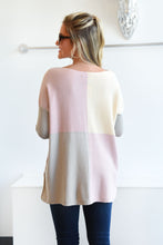 ONE THING RIGHT SWEATER -PINK